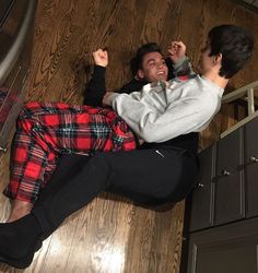 Ethan and Gray. Also known as who am I more jealous of?..