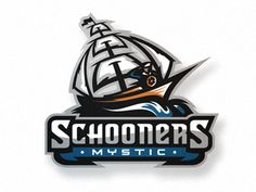 Th Mystic Schooners by CJ Zilligen whom I think makes the best sports logos.