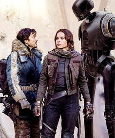 Rogue one - Rebellions are built on hope. - I'm one with the force, the force is with me.