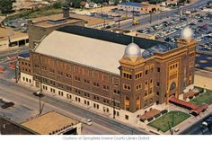 :: Historic Postcards of Springfield, Missouri Missouri State University, Springfield Missouri, Mosque, Postcards, Past, Louvre, Building, Travel, Life