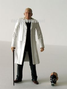 9. Doctor Constantine (with swappable heads of normal head and gas mask head)