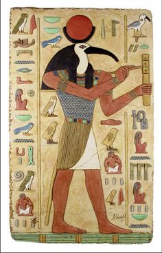 How did thoth become a god