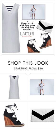 """LATTORI dress"" by water-polo ❤ liked on Polyvore featuring Lattori, Tory Burch, Boohoo, polyvoreeditorial and lattori"
