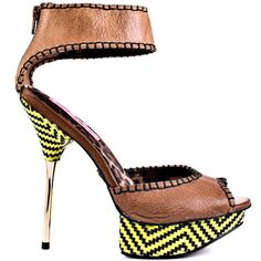 Throw out those tacky sandals !! Bring sexy back with these natural leather stiletto heels- Do it your way