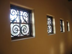 Beautiful! Blind Faith loves faux iron!  It's so versatile and perfect for small or odd shaped windows that need a little touch of elegance.