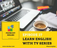 Improve your English at any level with these easy TV series to learn English with. These TV shows will be easy to understand and improve your vocabulary. Improve English Speaking, Learn English, Advanced English, English Exam, Fluent English, Learning English Online, Teaching English, Grammar And Vocabulary, English Vocabulary