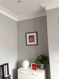 Feine grau-weiß Abstufungen von Farrow & Ball  www.meinewand.de