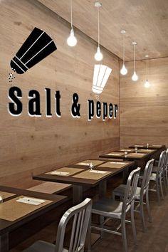 Salt & Peper (wall stickers)