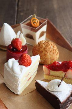 季節のケーキ @ おかしの平和堂 Patisserie Heiwado (Japan) ♥