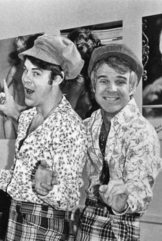 """Dan Ackroyd and Steve Martin - The Czech Brothers - """"Two wild and crazy guys"""""""