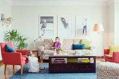 Touring The Wonderfully Whimsical Home Of Kate Brightbill   Glitter Guide