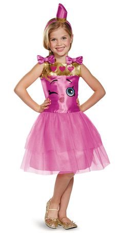 Shopkins Lippy Lips Child Costume from Buycostumes.com