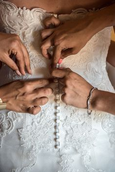 Little details that make all the difference…  Wedding details, wedding dress, bride getting ready. Make All, How To Make, Bride Getting Ready, Wedding Details, Wedding Rings, Engagement Rings, Wedding Dresses, Jewelry, Fashion