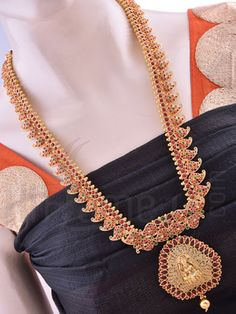 Mahalakshmi Antique Haaram Set