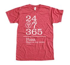 Pizza  24 / 7 / 365. Jeremy NEEDS this!