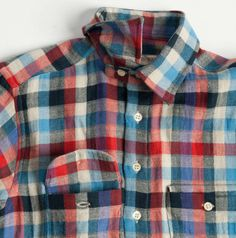 UNITE : 18 Waits The Woodsman Piper Plaid Button Down Shirt - 18 Waits The Woodsman Piper Plaid Button Down Shirt ($100-200) - Svpply