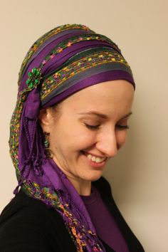andrea grinberg's wrapunzel blog all about tichels! It's great!