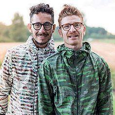 I designer Fabio Sasso e Juan Caro: alle sfilate milanesi con #Leitmotiv