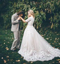 prefect wedding dress--Tessa Barton Photography
