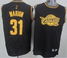 4dff3b6db96 Cavaliers Shawn Marion Black Precious Metals Fashion The Finals Patch  Stitched NBA Jersey