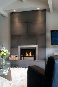 fireplace material/color