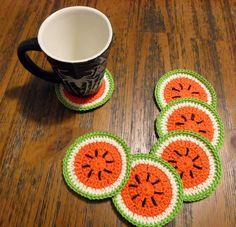 6 Porta copos melancia - grande                                                                                                                                                                                 Mais