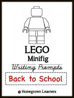 Lego writing prompt