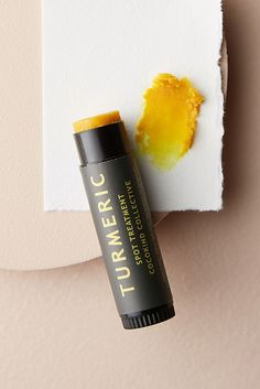Cocokind Turmeric Spot Treatment by in Yellow Size: All, Bath & Body at Anthropologie Coffee Mask, Beauty Hacks For Teens, Luscious Hair, Home Remedies For Hair, Spot Treatment, Natural Beauty Tips, Facial Care, Tea Tree Oil, Maquiagem