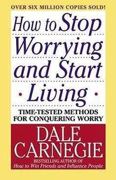 """#DaleCarnegie gives in his book """"How to Stop Worrying and Start Living"""" an actionable #guide on how to easily eliminate #worry from our lives. With shared stories and varying approaches the reader feels it is doable. All that remains is remembering the lessons when facing a worrisome situation to take the worry out."""