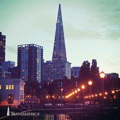 Transamerica Pyramid in San Francisco