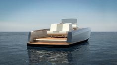 dubbed the dasher, the yacht combines electric power, with lightweight composite structural components, and printing. Yacht Design, Boat Design, Hinckley Yachts, Electric Boat, Electric Power, Sport Boats, Boat Fashion, Best Boats, Open Water