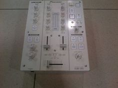 Pioneer DJM-350 White Limited Edition Professional Dj Mixer, Demo