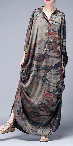 Fashion Mode, Abaya Fashion, Fashion Dresses, Simple Dresses, Casual Dresses, Mode Abaya, Maxi Outfits, Moda Casual, Dress Clothes For Women