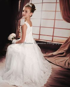 First Communion Dresses- I love this
