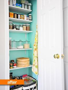 Before & After: Closet Pantry Makeover — A Cup of Mai