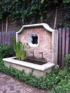 Trough and facing wall by gardenbleu, Greenside, JHB