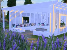 updates the sims 4 Sims 4 Kitchen, Sims 4 House Design, Sims 4 Cc Kids Clothing, Sims Four, Small Greenhouse, Greenhouse Ideas, Sims 4 Cc Furniture, Sims 4 Build, Sims 4 Game