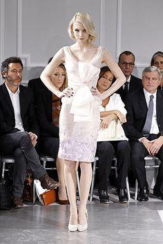 Dior fashion show.