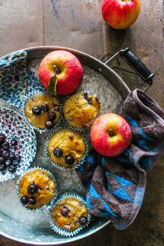 Apple Blueberry Muffins | Sugar et al