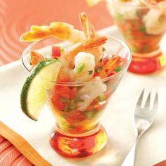 Ensenada Shrimp Cocktail Recipe from Taste of Home -- shared by Teri Rasey, Cadillac, Michigan