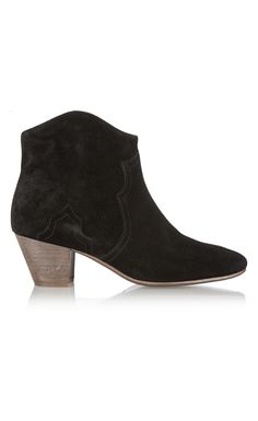 Isabel Marant The Dicker Suede Ankle Boots Black - Isabel Marant Christmsa Deals ($650->$195, 70%off) AVAILABLE NOW! #christmasgift #christmas #christmasdeals