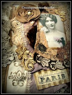 Suziqu's Threadworks: A French Themed Swap