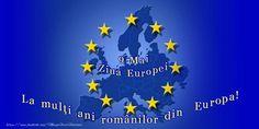 9 Mai Ziua Europei - La mulți ani românilor din Europa! 9 Mai, Flag, Country, Art, Europe, Art Background, Rural Area, Kunst, Science