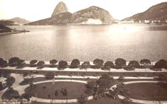Rio de Janeiro, Brasil. It does not seem possible that one time Guanabara Bay looked like this.