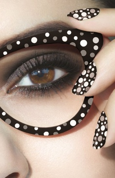 Nail Rock SS13 - Seeing Spots in Black