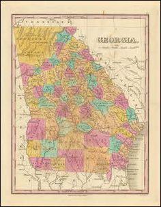 Map Of Georgia 2017.16 Best Georgia Antique Maps Images In 2017 Old Maps Antique Maps