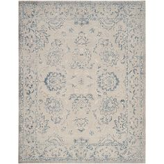Safavieh Patina Taupe/Blue 8 ft. x 10 ft. Area Rug-PTN316B-8 - The Home Depot