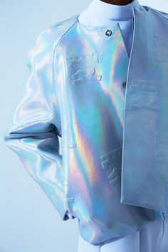Bei Kuo's Latest Lookbook Boasts Sleek and Holographic Fashions #fashion trendhunter.com