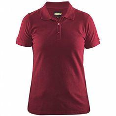 7289fcb66cb Blakläder 330710355600XL Damen Polo-Shirt Größe XL in rot