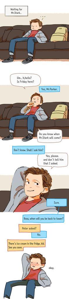 Waiting for Mr.Stark by Hallpen.deviantart.com on @DeviantArt